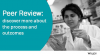 Peer Review: discover more about the process and outcomes