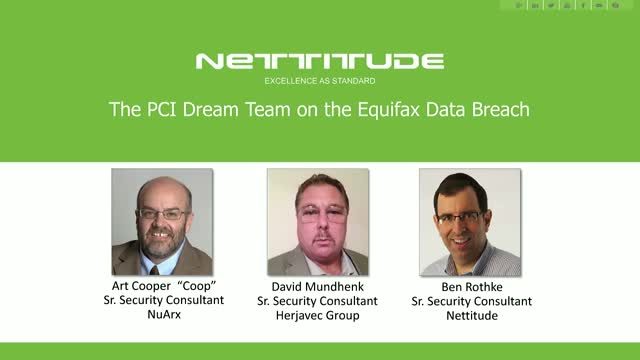 The PCI Dream Team on the Equifax Data Breach