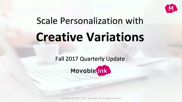 How to Scale Personalization with Creative Variations