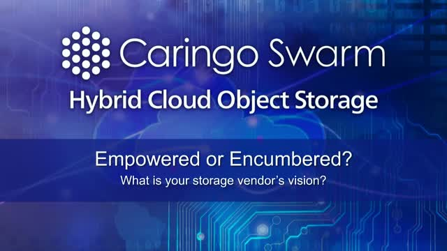 Caringo Swarm Hybrid Cloud for Microsoft Azure