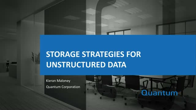 A Storage Strategy to Achieve Better Data Protection, Preservation & Visibility