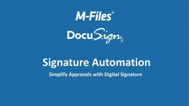 Simplify and Streamline Document Approvals with Digital Signatures
