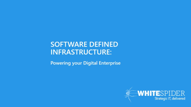 Software Defined Technologies: Building tomorrow's digital infrastructure
