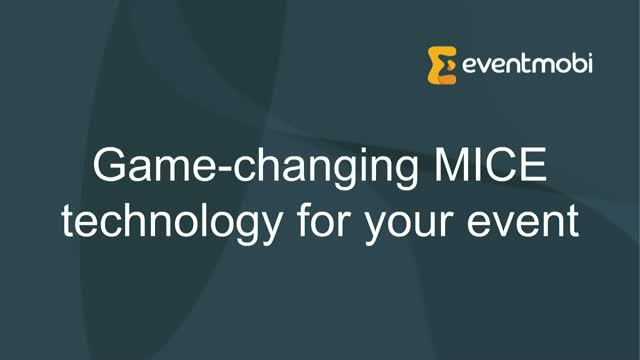 Game changing MICE technology for your event