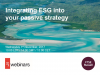 Integrating ESG into your passive strategy