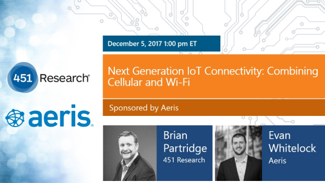 Next Generation IoT Connectivity: Combining Cellular and Wi-Fi