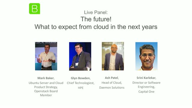 [Expert Panel] The future! What to expect from cloud in the next years