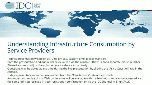 Understanding Infrastructure Consumption by Service Providers