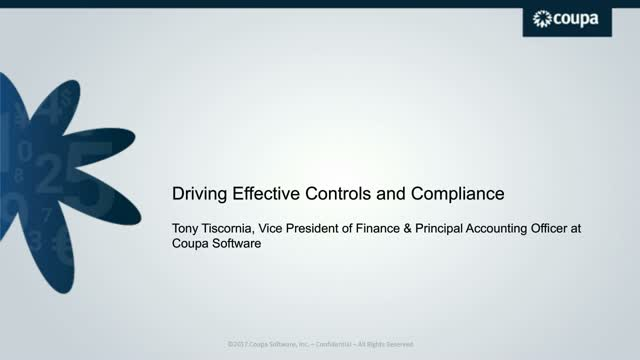 Driving Effective Corporate Controls and Compliance in Today's Modern Organizati
