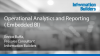 Operational Analytics and Reporting ( Embedded BI)