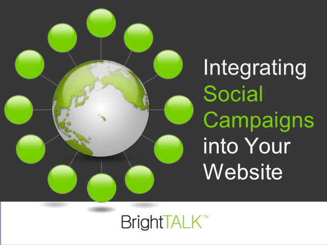 Integrating Social Campaigns into Your Website