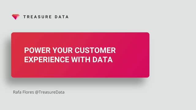 How to Power Your Customer Experience with Data