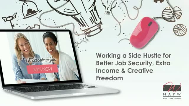Working a Side Hustle for Better Job Security, Extra Income & Creative Freedom