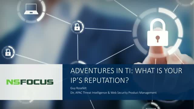 Adventures in TI: What is your IP Reputation?