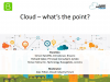 [Live Panel] Cloud - what's the point?