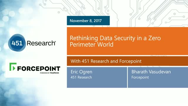 Rethinking Data Security in a Zero Perimeter World