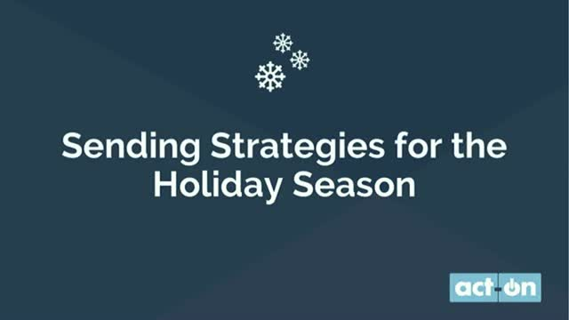 5 Email Marketing Strategies for the Holiday Season