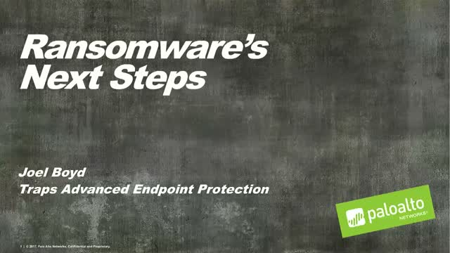 Ransomware's Next Steps