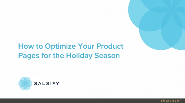 How to Optimize Your Product Pages for the Holiday Season