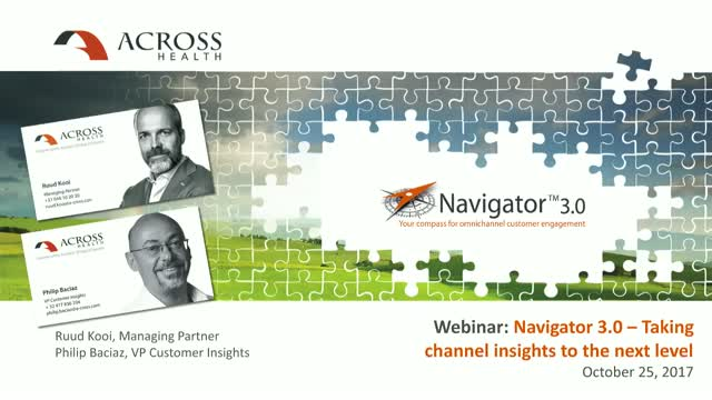 Navigator 3.0: taking channel insights to the next level