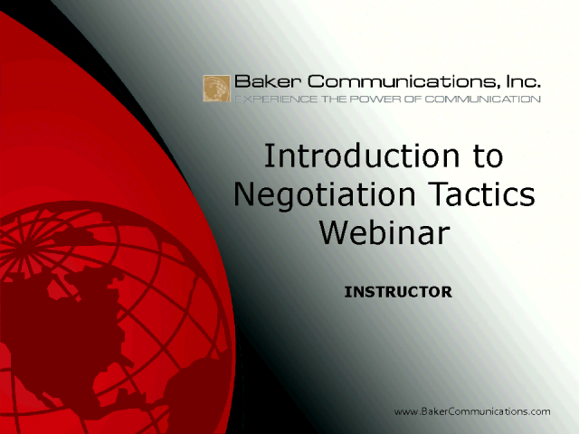 Win Win Negotiations For Salespeople