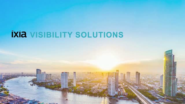 ActualTech Media + Ixia: Visibility Solutions EcoCast