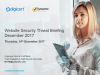 Symantec Monthly Threat Briefing - 2017 in review, 2018 ahead