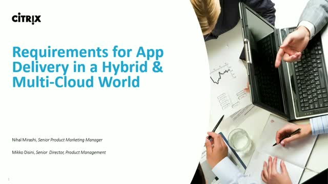 Requirements for App Delivery in a hybrid and multi-cloud world