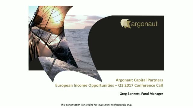 FP Argonaut European Income Opportunities Fund Q3 Update