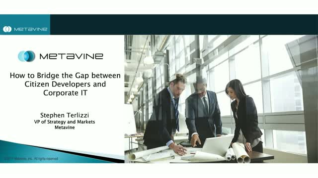 How to Bridge the Gap between Citizen Developers and Corporate IT
