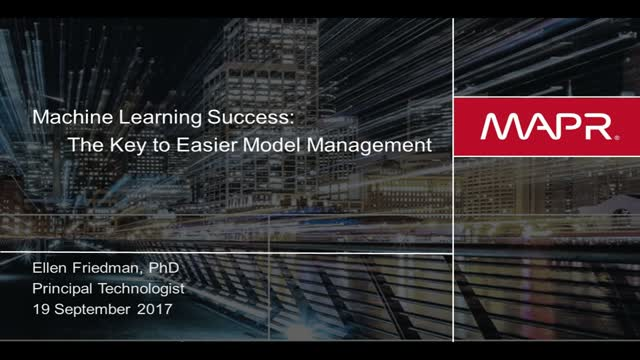 Machine Learning Success: The Key to Easier Model Management