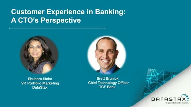 Customer Experience in Banking - a CTO's Perspective