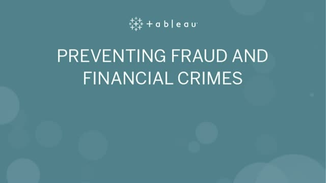 Preventing Fraud and Financial Crimes