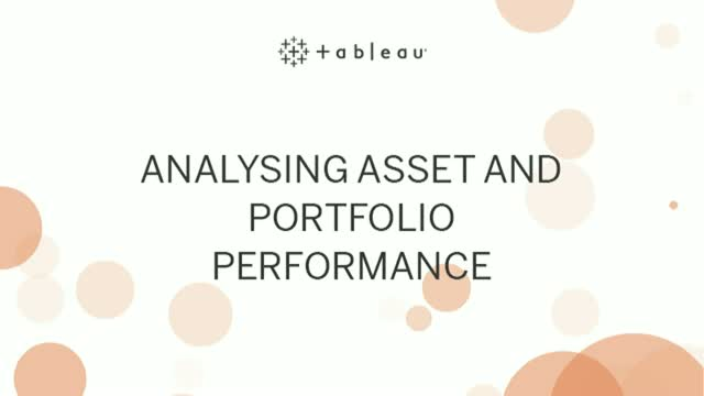 Analysing Asset and Portfolio Performance