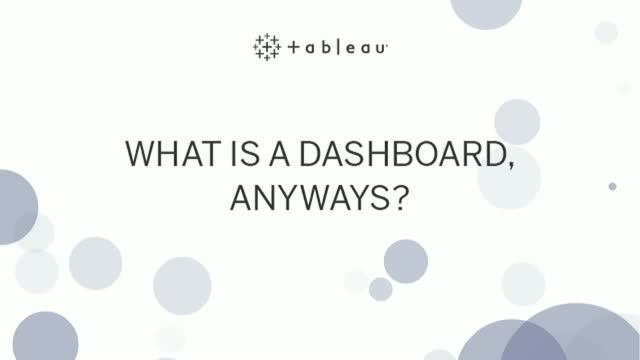 What is a dashboard, anyway?