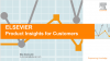 Fast track insights into Elsevier product usage and your research impact