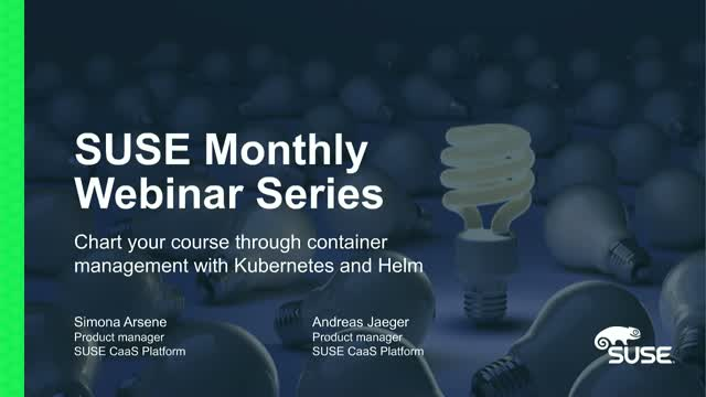 Chart your course through container management with Kubernetes and Helm