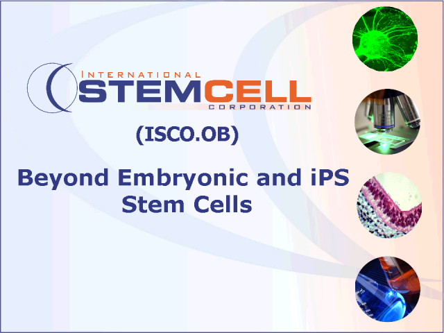 Beyond Embryonic Stem Cells