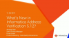 Informatica Address Verification 5.12 – What's New?