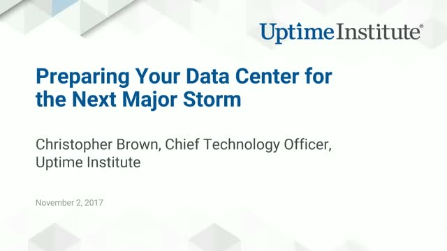 IT Disaster Planning: Preparing Your Data Center for the Next Major Storm