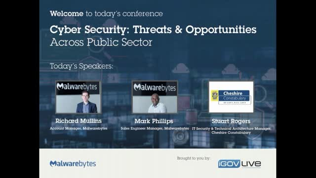 Cyber security: Threats and opportunities across the public sector