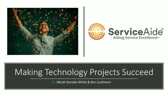 Making technology projects succeed