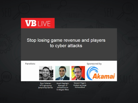 Stop losing game revenue and players to cyber attacks