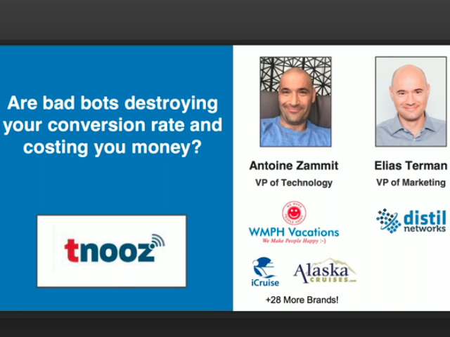 Are Bad Bots Destroying Your Conversion Rate and Costing You Money?