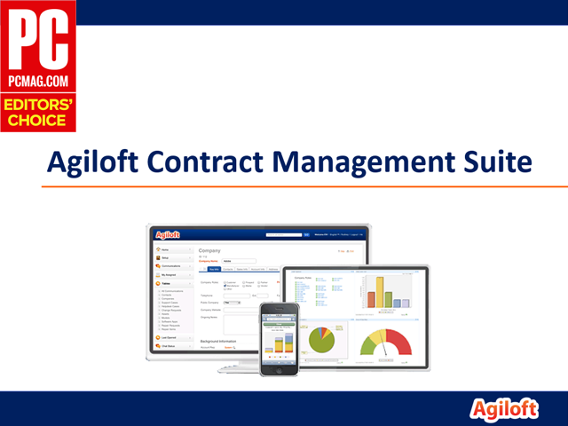 Agiloft Contract Management Suite - Full Demo