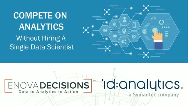 Compete on Analytics...without Hiring a Single Data Scientist