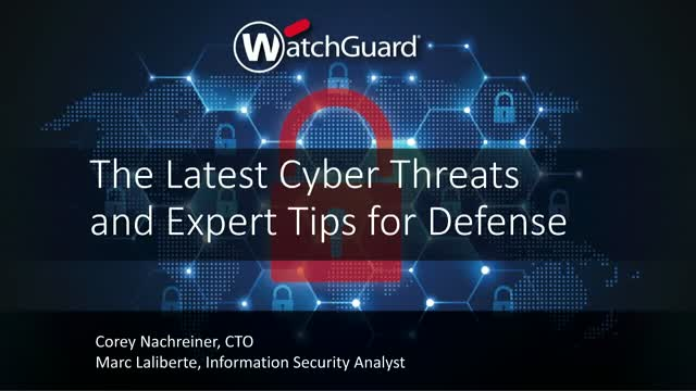 The Latest Cyber Threats and Expert Tips for Defense