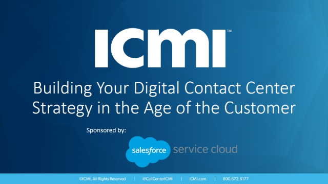 Building Your Digital Contact Center Strategy in the Age of the Customer