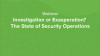 The State of Security Operations