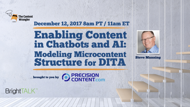 Enabling Content in Chatbots and AI: Modeling Microcontent Structure for DITA